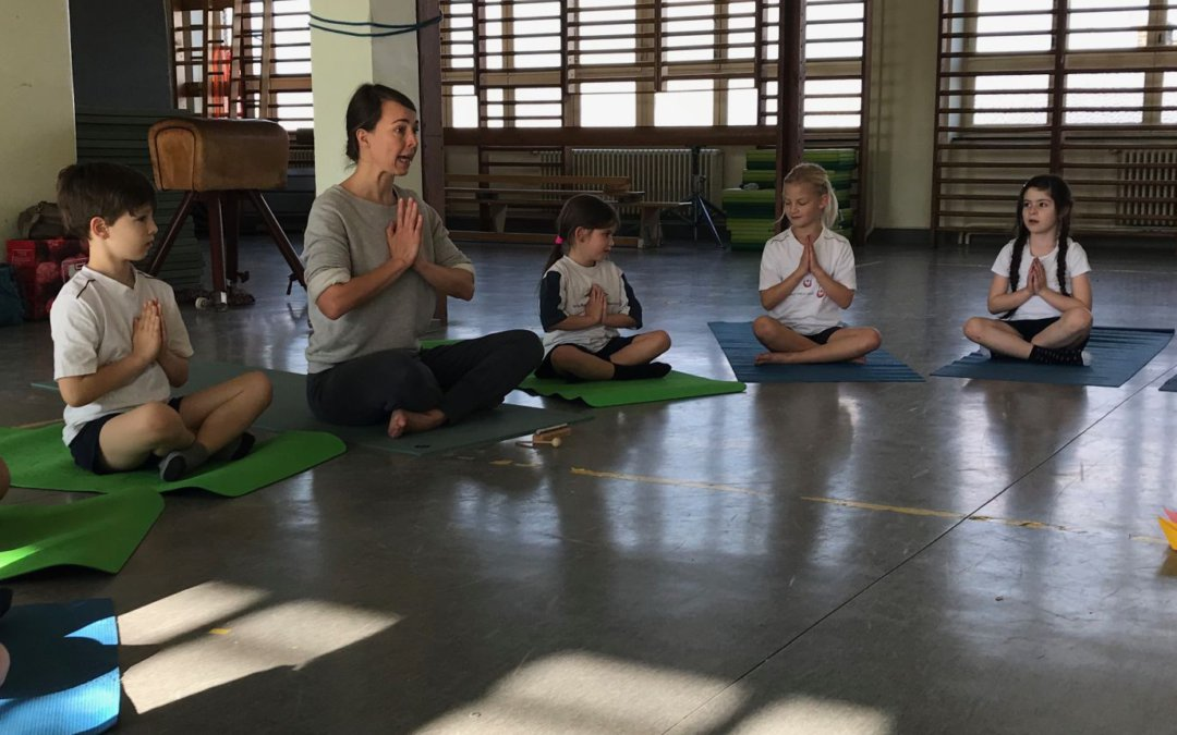 Eerste yogalessen