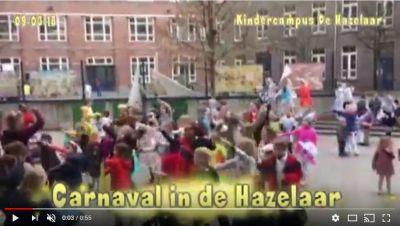 Carnaval op de speelplaats