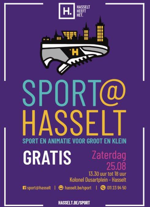 Gratis sport voor groot en klein (Stad Hasselt)