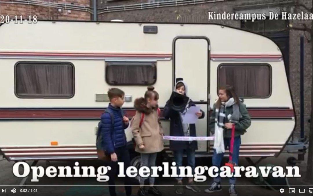 Opening leerlingcaravan