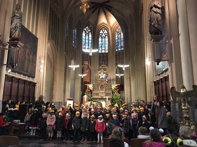 Kerstviering in de kathedraal